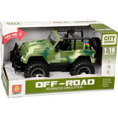 Off Road Jeep (YESİL)